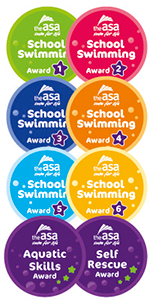 ASA School Charter badges