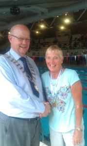 Judy Wilson world record midland Masters Championships