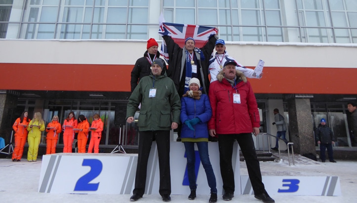 Russian Winter Swimming Champs Rory Fitzgerald gold