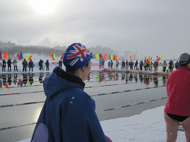 GB world ice swimming championships