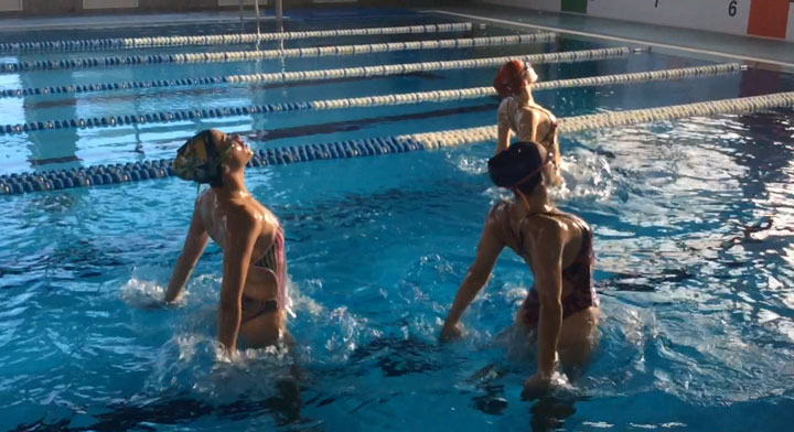 Jodie Cowie synchro blog. Road to Rio